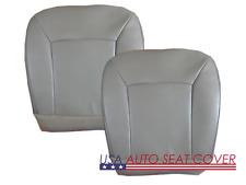 03-14 E150-E250 Supper Duty V8 GAS  Driver Passenger BottomVinyl Seat cover GRAY