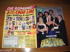 TV SORRISI E CANZONI=1987/38=MAURIZIO COSTANZO=007 JAMES BOND=JULIO IGLESIAS=