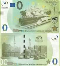 Biljet billet zero 0 Euro Memo - Miniatuur Wunderland Hamburg (003)