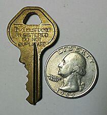 Key Master Do Not Duplicate 30865 Industrial Washing Machine Vending Padlock