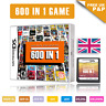 600 in 1 Video Games Cartridge Pokemon Card For DS NDS NDSL NDSi 2DS 3DS UK