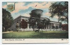 OH ~ State Capitol Building COLUMBUS Ohio c1909 Franklin County Postcard
