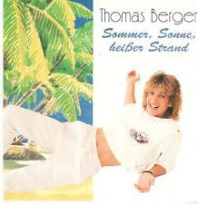 """<1766> 7"""" Single: Thomas Berger - Sommer, Sonne, heißer Strand / same (instr.)"""