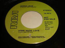 Norma Jean: Home Made Love / These Flowers 45