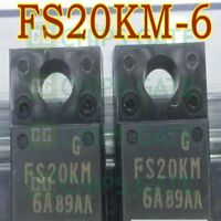 2PCS MITSUBIS FS20KM-6A TO-220 Nch POWER MOSFET HIGH-SPEED IC