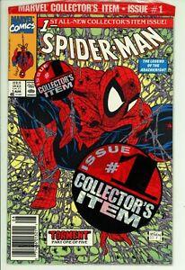 Spiderman 1 - McFarlane - Newsstand - Bagged - High Grade 9.2 NM-