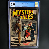 MYSTERY TALES #48 (Atlas 1956) 💥 CGC 5.0 OW-W 💥 ONLY 22 in CENSUS! EVERETT Cvr
