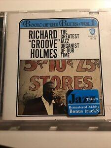 Richard Groove Holmes Book Of The Blues Rhino Jazz Cd