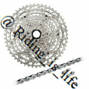 Shimano Deore M6100 Wear and Tear Set 12-speed-CS-M6100 Cassette+CN-M6100 Chain
