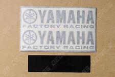 2x Yamaha Factory Racing FR Premium Cast Decals Stickers YZF R1 R3 R6 FJR MT XT