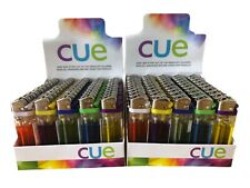 100 Cue Disposable Butane Lighters New In Box-Wholesale Lot