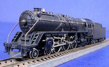 Vintage Fleischmann HO Scale Powered Metal Steam Engine & Tender 01 1952