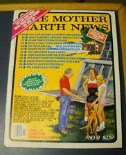 MOTHER EARTH NEWS MAGAZINE MAY/JUN 1978 BUILD A BARN SUMMER BACKPACKING CISTERN