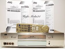 JVC hr-s9500 high-end S-VHS grabadora de video grabador TBC + FB + bda 12 m. gewährl
