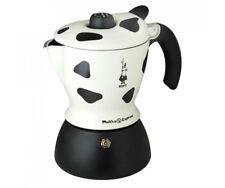 Bialetti Moka Mukka Express Caffettiera per Cappuccino Espresso cremoso di Alluminio (2 Tazze)