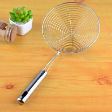 Stainless Steel Long Handle Mesh Hollow Net Strainer Ladle For Kitchens