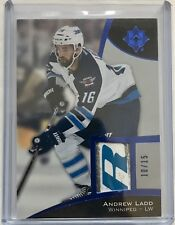 ANDREW LADD 2015-16 Upper Deck Ultimate STICK CARD BLUE 10/15 SSP JETS
