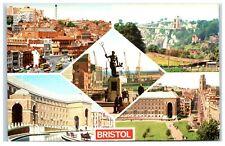 Postcard Bristol Somerset 5 views