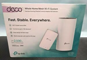 NEW TP-Link Deco E3 - AC1200 - Whole Home Mesh Wi-Fi System - (BR3)