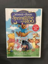 Winnie the Pooh Springtime with Roo DVD New & Sealed