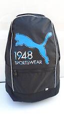 NEU Puma Rucksack Tasche Schwarz Sport Freizeit Schule Reise Backpack Urlaub