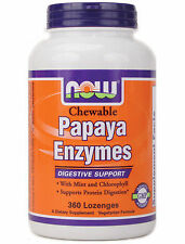 Papaya Enzyme Chewable  360 Tabs NOW Foods