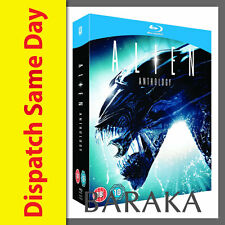 Alien Anthology Quadrilogy Movies 1 2 3 4 BLU RAY 2012 New & Sealed Region Free