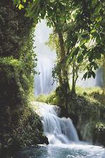 POSTER Zaragoza Falls, Spain 24x36