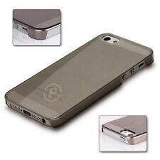 Ultra Slim Transparent Apple iPhone 5 5s SE PC Hard Case Cover Shell Smoke Grey
