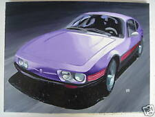 VW SP2 OIL PAINTING ON CANVAS POP ART FROM BRAZIL Puma