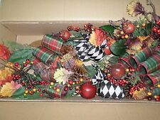 Frontgate Grandinroad Christmas Abbeville Mantel Swag Garland 6' Grapevine Decor