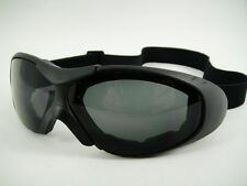 NEW Goggles Motorcycle Driving Safety Snow Tactical Urban TOP QUALITY #2 Free Sh