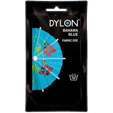 BAHAMA BLUE DYLON HAND WASH FABRIC CLOTHES DYE 50g TEXTILE PERMANENT COLOUR