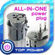 US to EU Europe AC Power Plug Travel Adapter Converter