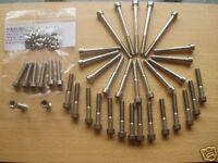 HINCKLEY TRIUMPH BONNEVILLE T100 ENGINE CASING STAINLESS STEEL ALLEN CAP bolts
