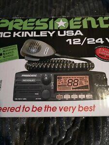 President MCKinley 40 Channel Transceiver USA MODEL