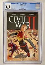 Civil War II #4 CGC 9.8 First Appearance Of The Immortal She-Hulk 2016 Marvel