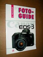 Foto guide Canon eos-3/G. GIUDICE/VFV Verlag