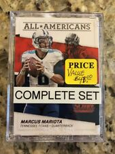 2016 Score Football All Americans Complete  Insert Set (25)