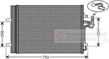 Kondensator Klimaanlage - van Wezel 18005427