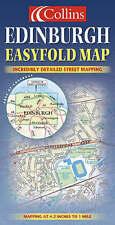 """VERY GOOD"" Edinburgh Easyfold Map, Not Known, Book"