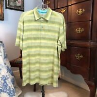 Mens Tommy Bahama 70% Silk Shirt Size L Preowned