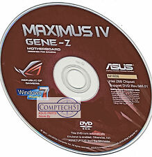 ASUS Maximus IV Gene-Z MOTHERBOARD DRIVERS M1808 WIN 8 & 8.1 DUEL LAYER DISK