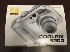 Nikon COOLPIX 5200 5.1MP Digital Camera - Silver (Kit w/ Not Applicable Lens)
