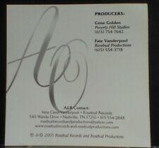 "Buy Allison Owsley, ""Strong Enough"" FREE B/W 4X6 Rosebud Records, Nashville"