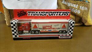 NIB #21 WOOD BROTHERS CITGO FORD NASCAR SUPER STAR TRANSPORTER 1/87 MATCHBOX