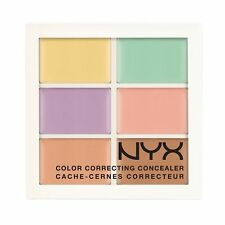 NYX Color Correcting Concealer Palette 3CP04 6 x 0.05 oz New & Sealed