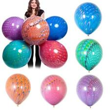 18 Inch Peacock Pattern Agate Balloon Latex Marble Party Wedding Decoration HOT