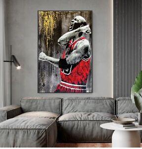 Wall Art Painting Basketball Player idol Kobe Bryant Poster Home Deocor Room hot