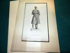 "#8719,"" American Soldier"" Superb 1876 Expo Lithograph,C.Serz Engrave,Gebbie Pub"